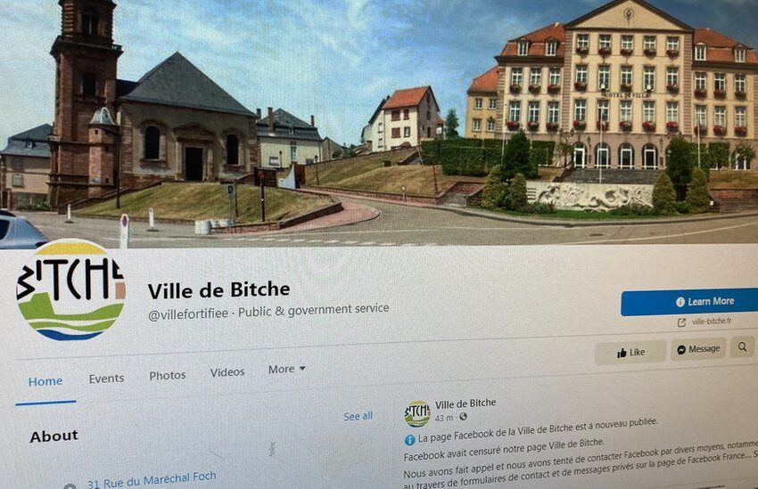 Lost in translation! Facebook suspends town's page over 'offensive' name