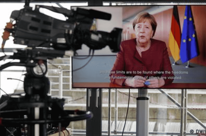 Freedom of opinion has its limits, says Merkel in DW Global Media Forum
