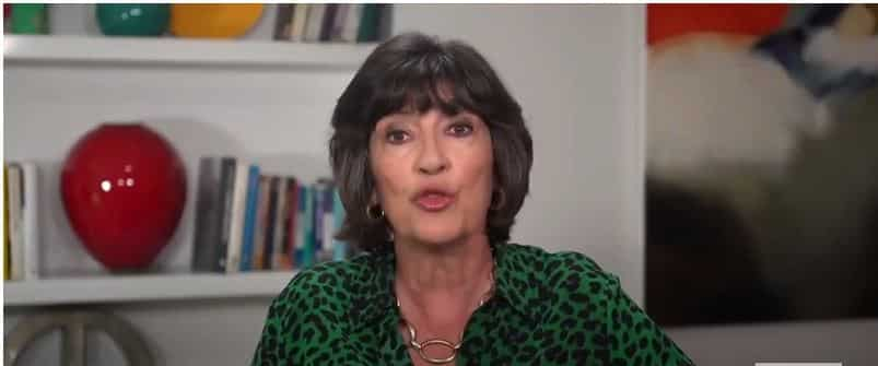 Christiane Amanpour announcing her cancer 'as shout-out to early diagnosis'